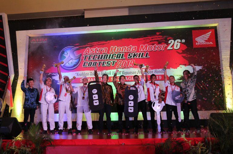 AHM Uji Keterampilan Teknisi Honda Untuk Beri Layanan Servis Terbaik