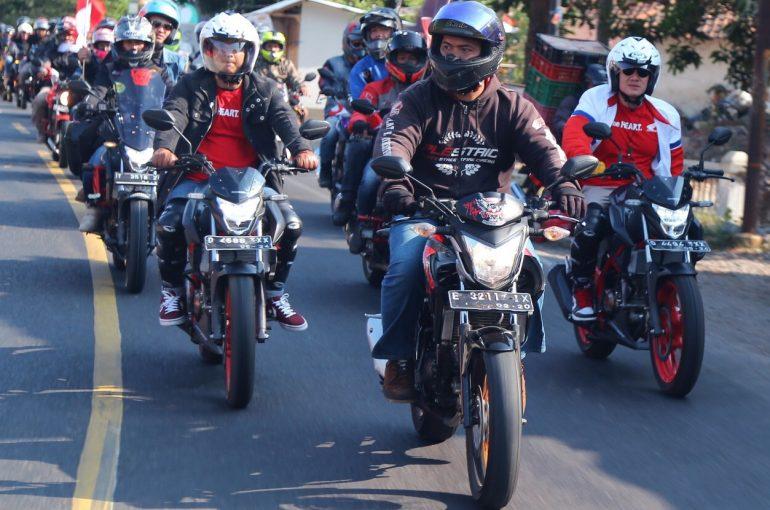 Wujudkan Kebanggaan Terhadap Indonesia, Bikers Honda Rayakan HUT RI ke74
